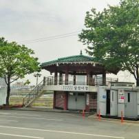 Walk towards the pagoda